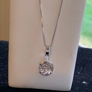 Jewelry - Brand new Atocha silver coin with silver chain.